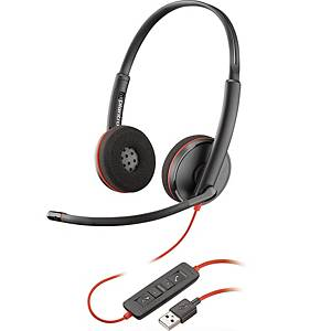 Plantronics 209745-01 C3220 Binaural PC Headset