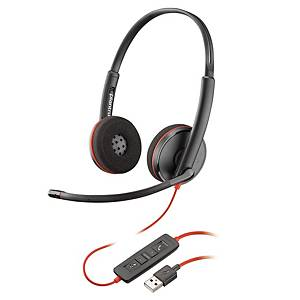 PLANTRONICS 209745-01 C3220 PC HEADSET