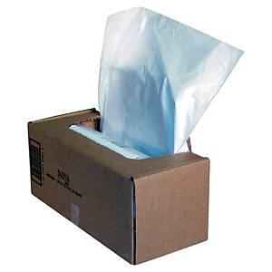 Sacs poubelle Fellowes 36056 pour broyeur papier, 94 litres, le paquet de 50