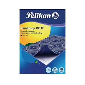 Blaupapier Pelikan Handicopy 303H, A4, 100 Blatt