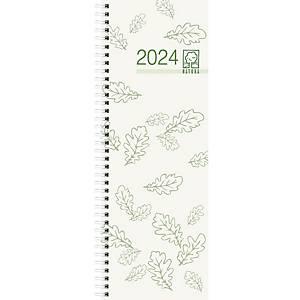 Vormerkkalender 2021 Zettler 718UWS, 1 Woche / 1 Seite, 105 x 295mm