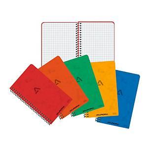 Aurora spiraal notitieboekje 80 x 135 mm, geruit 5 x 5 mm, 50 vellen