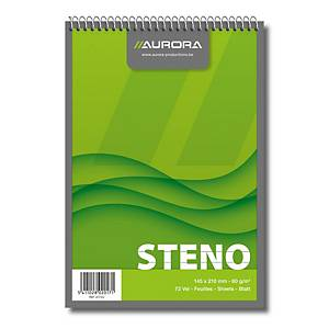 Aurora notebook 148x210 mm ruled 72 pages