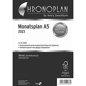 Monatsplan 2020 Chronoplan 50280, A5