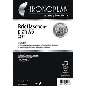 Brieftaschenplan 2021 Chronoplan 50269, A5