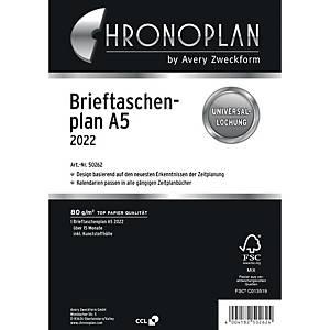 Brieftaschenplan 2020 Chronoplan 50260, A5