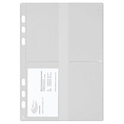 Visitenkartenhüllen Chronoplan 50384 A5 3 Stück