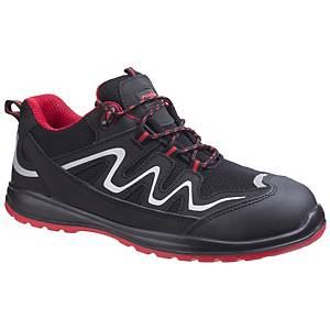 Footsure FS312 S3 Safety Shoe Size 39 Black & Red