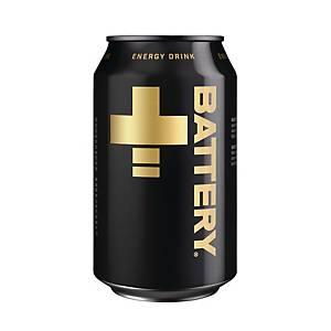 Battery energiajuoma 0,33L, 1 kpl=24 tölkkiä