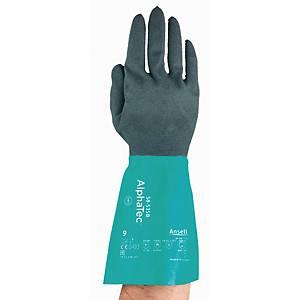 Rękawice kwasoodporne ANSELL AlphaTec 58-535B rozmiar 10, para