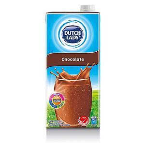Dutch Lady Milk Chocolate UHT 1l