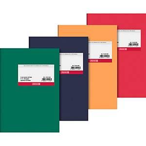 Geschäftsbuch Brunnen 43942, A5, kariert, sortiert, 60 Blatt