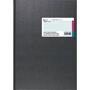 Geschäftsbuch Brunnen 14233, A4, kariert, Seitenzahlen, 144 Blatt