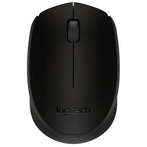 Souris Logitech M171, technologie sans fil 2,4 GHz, noir