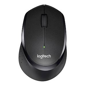 Maus Logitech Silent Plus M330 , Kabellose 2,4 GHz Technologie, schwarz