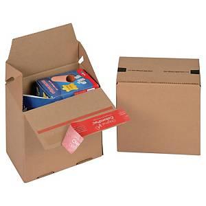 ColomPac® EURO doboz, 145 x 95 x 140 mm, barna, 20 darab