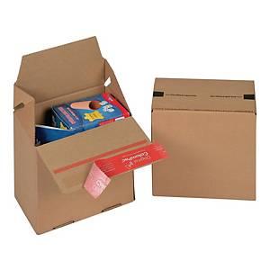 Karton COLOMPAC Eurobox, wymiary w mm: dł. 145 x szer. 95 x wys. 140, 20 sztuk