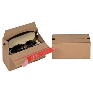 EURO krabice ColomPac®, 195 x 95 x 90 mm, hnědá, 20 kusů