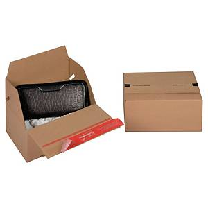 Scatola imballo Eurobox Colompac 200 x 150 x 100 mm avana - conf. 20