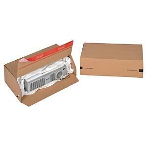 Scatola imballo Eurobox Colompac 300 x 100 x 150 mm avana - conf. 10