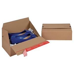 EURO krabice ColomPac®, 294 x 194 x 87 mm, hnědá, 10 kusů