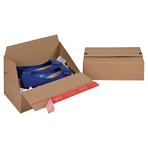 Papkasse ColomPac Eurobox-series, 294 x 194 x 87 mm, pakke a 10 stk.