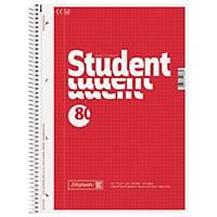 Collegeblock Brunnen 67942, A4, kariert, 70g, 4fach gelocht, 80 Blatt