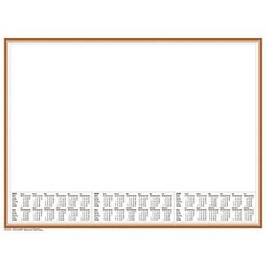 Schreibunterlage 2020 Brunnen 70126, 58,5 x 43,5cm, großes Notizfeld, 50 Blatt