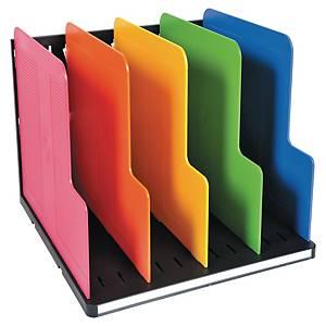 Clasificador Exacompta - 5 compartimentos - varios colores