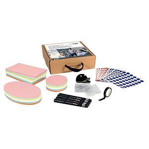 Set k agilným textilným nástenkám Sigel MU250