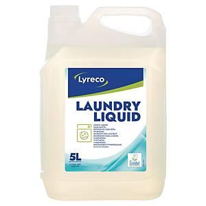 Lessive liquide écologique Lyreco, le bidon de 5 l