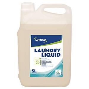 Waschmittel Lyreco 4003672, flüssig, 5 Liter