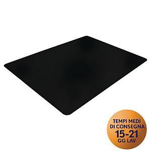 Tappeto Cleartex per pavimento duri 90 x 120 cm nero