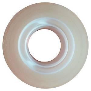 Tejp Lyreco, osynlig, 19mmx33m, förp. med 8rullar