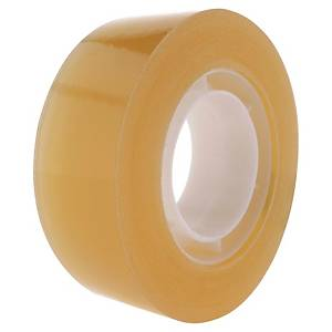 Lyreco Budget Tape 19mm 33m Clear - Pack Of 8