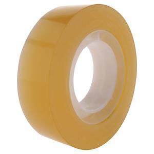 Lyreco budget tape, B 15 mm x L 33 m, per pak van 10 rolletjes plakband