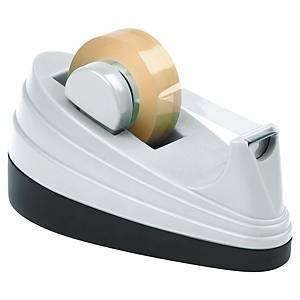 Portarrollos de sobremesa Lyreco - 33 mm - blanco/negro