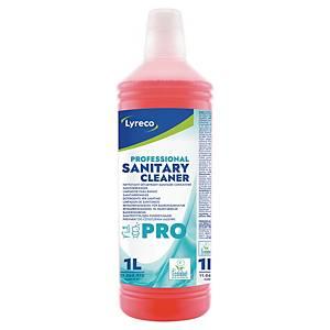 Nettoyant pour sanitaires Lyreco Pro, la bouteille de 1 l