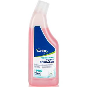 WC Entkalker Lyreco Professional, frischer Duft, Flasche à 750 ml