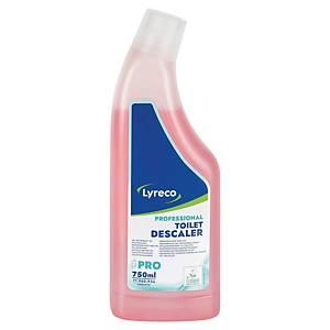 Čisticí prostředek Lyreco ECO na toalety růžový 750 ml