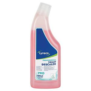 Gel détartrant WC Lyreco Pro - écoresponsable - flacon de 750 ml