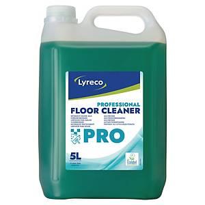 Nettoyant sols Lyreco Pro pour usage quotidien, le bidon de 5 l