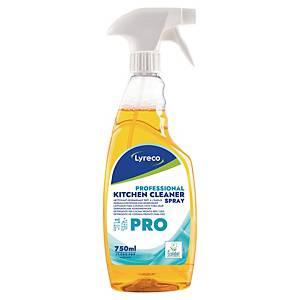 Uniwersalny spray do czyszczenia kuchni LYRECO PRO, 750 ml