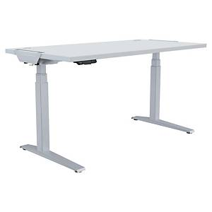 Fellowes Levado Height Adjustable Desk White - 1400X800mm