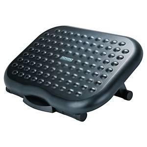 Apoio para os pés ajustável - plástico - preto
