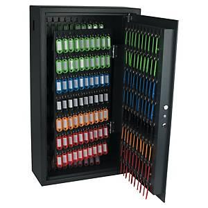 Bezpečnostní skříňka na 300 klíčů Pavo, černá
