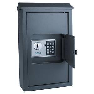 Schlüsselkasten Pavo 8009022, verschließbar, für 50 Schlüssel,