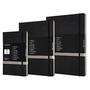 Caderno Moleskine Pro - 96 folhas - capa dura - horizontal