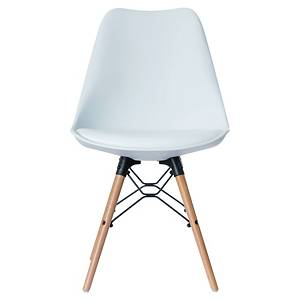 BX2 PAPERFLOW DOGEWOOD CHAIR BEECH WHITE