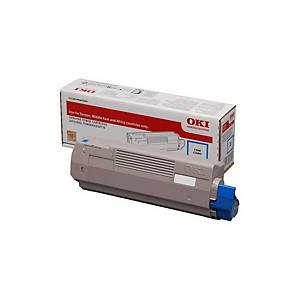 Toner laser Oki 46490607 - ciano